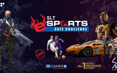 SLT Launches Cafe Tournament Series With Attractive Prize Pools