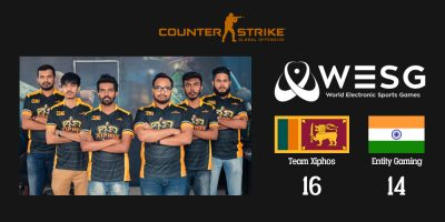 Sri Lankan team Xiphos beat India's Entity Gaming in WESG South Asia qualifiers