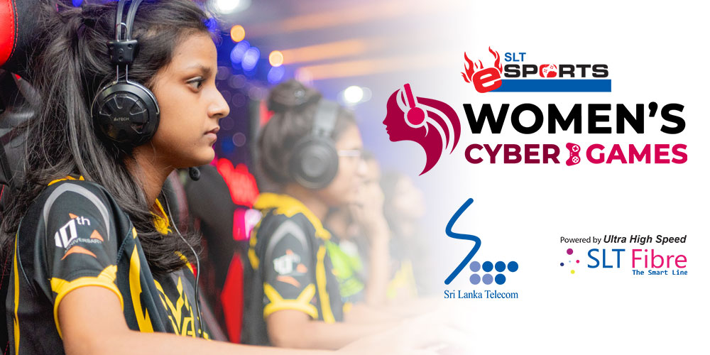 SLT signs on as Title Sponsor for Women's Cyber Games 2019