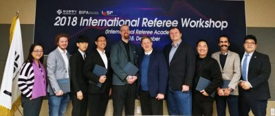 The Referee Workshop has been successfully concluded