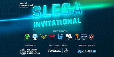 Sri Lanka Esports Association successfully concludes first SLESA Invitational in association with the World Connected Series