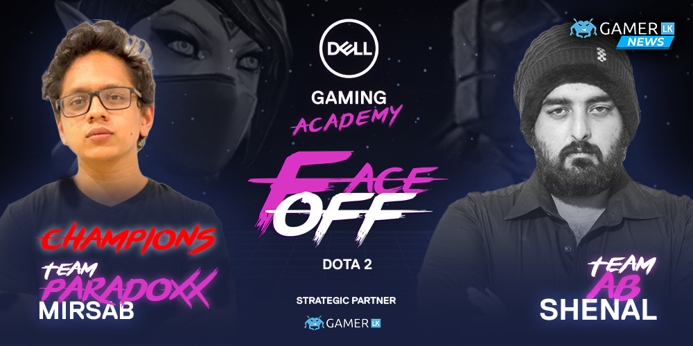 Team Paradoxx triumph over team AB to win the Dell Gaming Academy DOTA 2 Face-Off