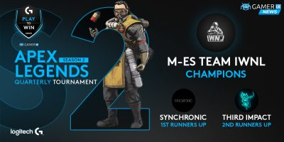 M-eS Team IWNL dominate the competition to win the Season 2 Apex Legends Logitech G Play to Win Tournament