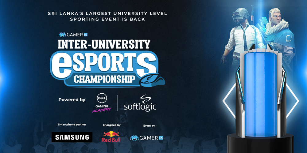 University sports continue virtually with Gamer.LK's Inter-University Esports Championship '21 powered by Softlogic & DELL